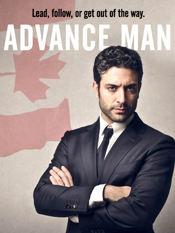 Advance Man Poster